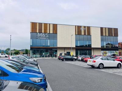 Image of the new Market Walk shopping centre